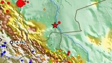 W Boliwii ziemia zatrzęsła się z siłą 6,7 st. R