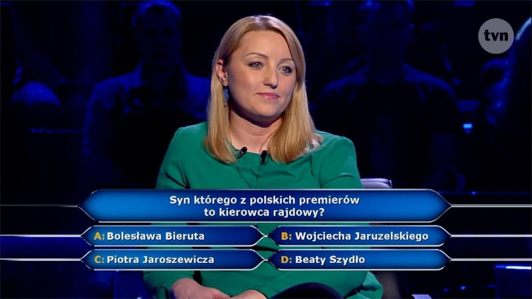 Pytanie o syna premiera za 40 tysięcy złotych