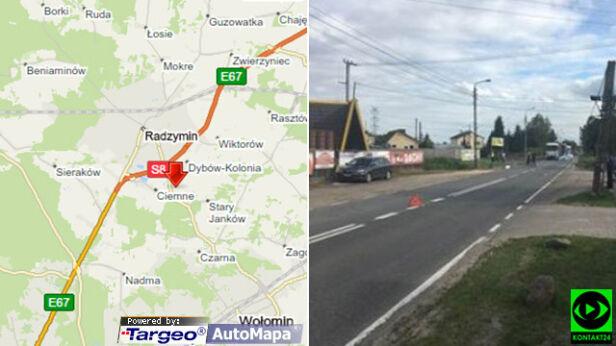 Śmiertelnie potrącił rowerzystę i uciekł Kontakt24/Targeo