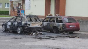 Dwa samochody paliły się w Ursusie