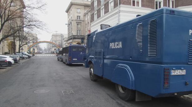 Armatka wodna przy placu Zbawiciela Mateusz Szmelter / tvnwarszawa.pl