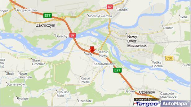 Do zderzenia doszło w Kazuniu Nowym targeo