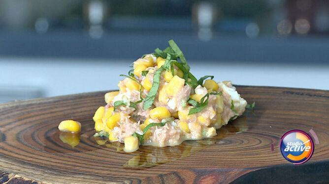 Szybka i prosta sałatka z tuńczykiem w nowej odsłonie