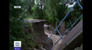Wylała rzeka w Lipowej (Wielkopolska)